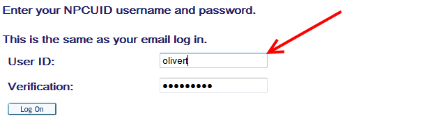 The User Login