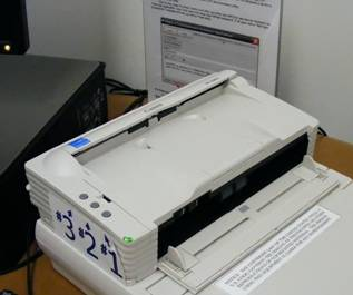 Document feeder left side