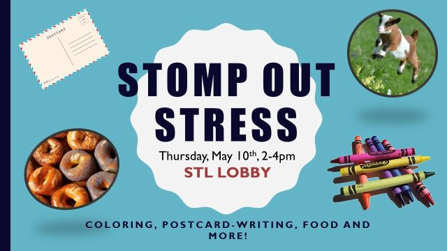 STOMP OUT STRESS
