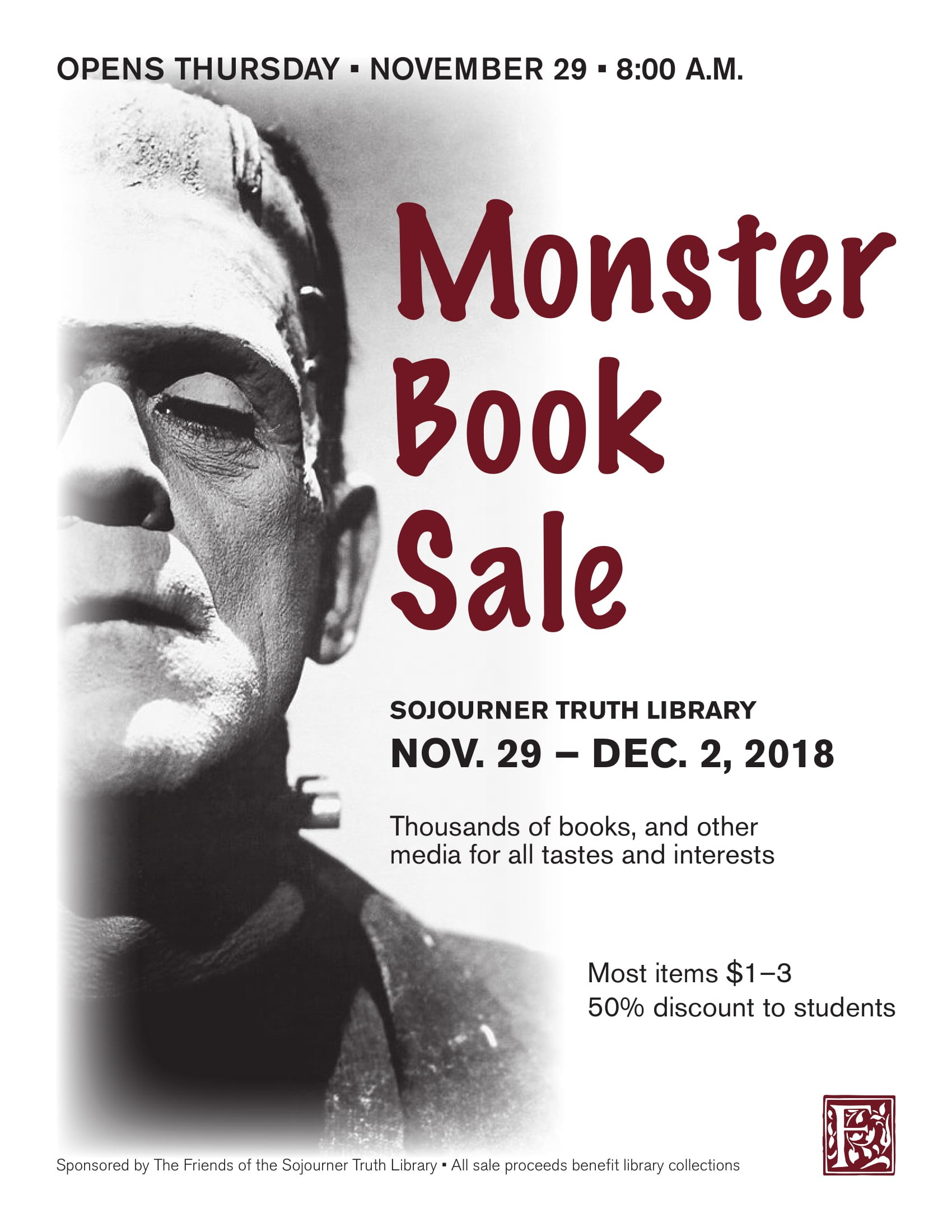Friends of the Library Annual Book and Media Sale