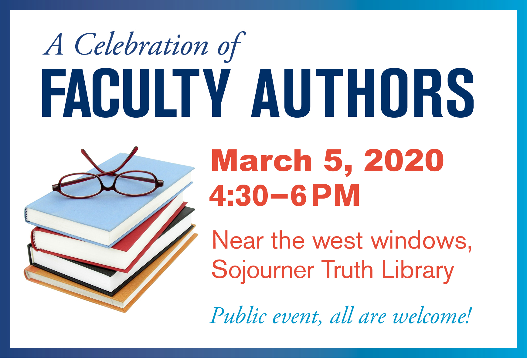 Faculty Author Celebration