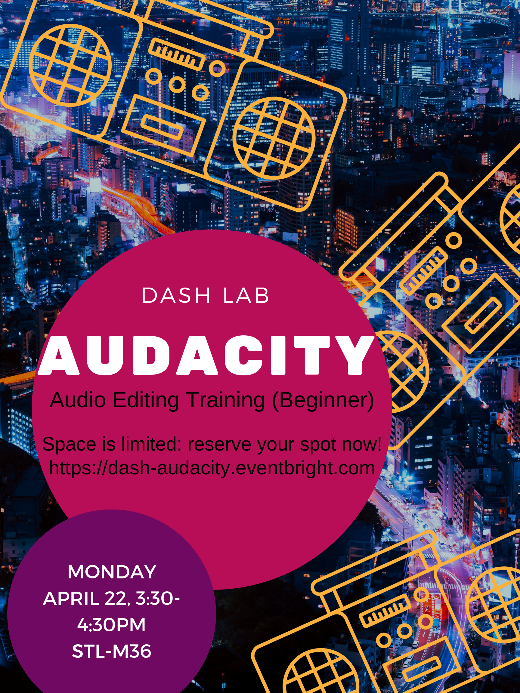 DASH Lab Training: Audacity