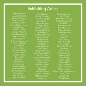 Exhibiting Artists
