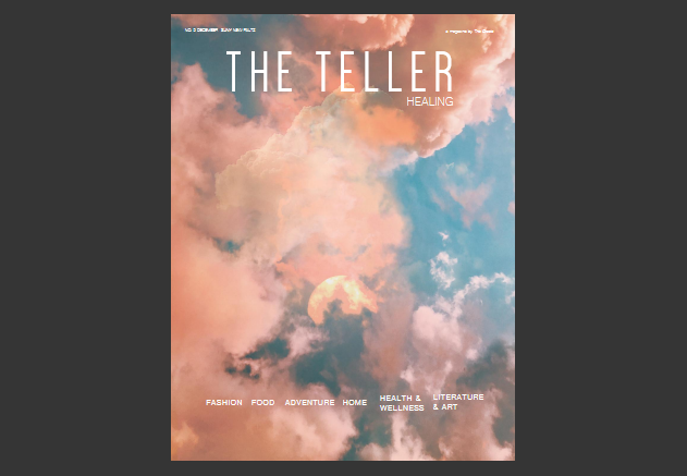 The Teller, Issue 9 cover