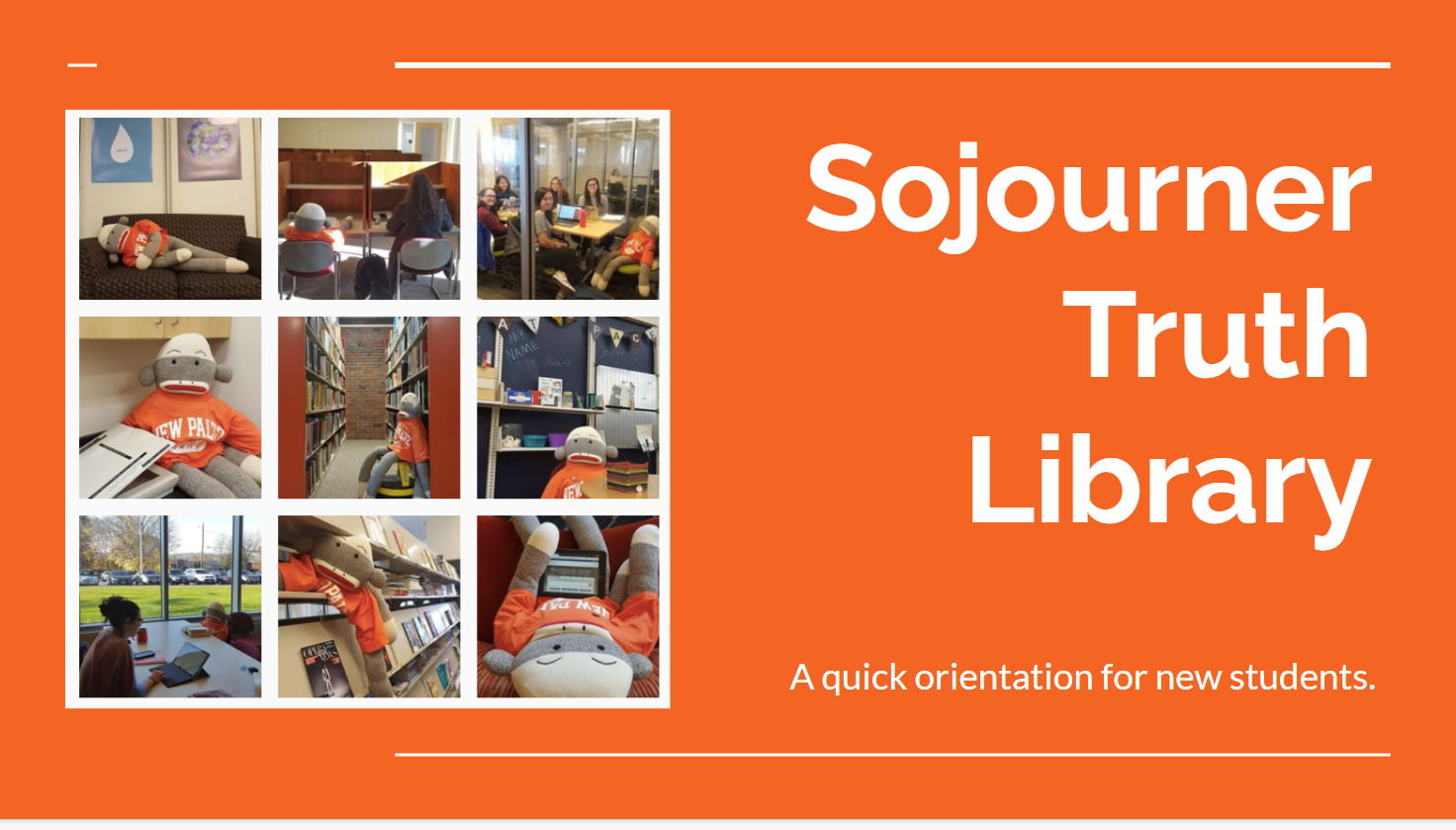 Quick Orientation to the library