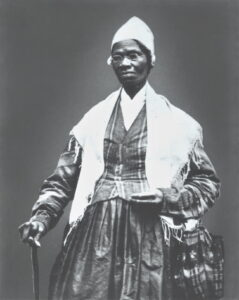 Sojourner Truth Posing for Photograph